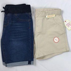 Faded Glory & Arizona shorts-NWT &NWOT size 12